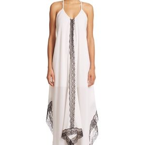 NWT alice + olivia Rav Strappy Back Lace Dress
